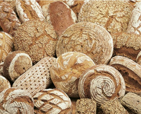 Dunkles Brot von Ihrem Bäcker